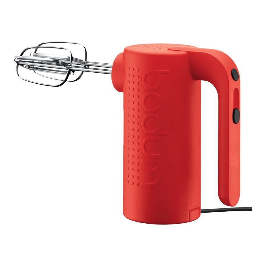Electric Hand Mixer ~ Bistro electric hand mixer red bodum loyalty source