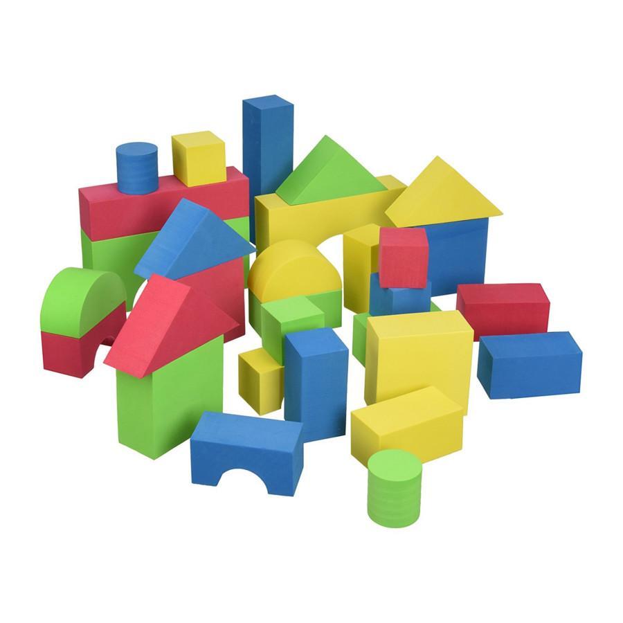 Edu Colour Blocks 30 Pieces Edushape Loyalty Source