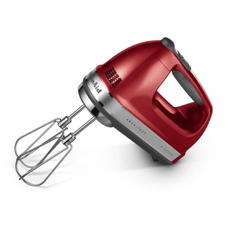 Architect 9 Speed Hand Mixer Candy Apple Red Kitchenaid Loyalty Source