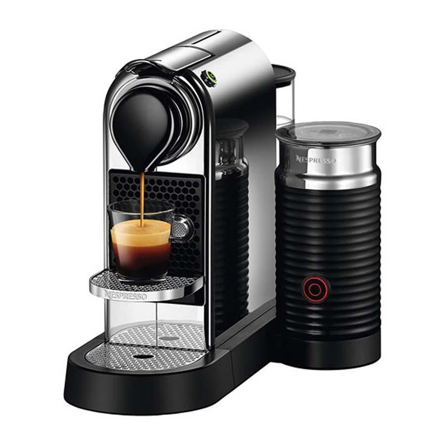delonghi citiz milk espresso machine chrome nespresso loyalty source. Black Bedroom Furniture Sets. Home Design Ideas