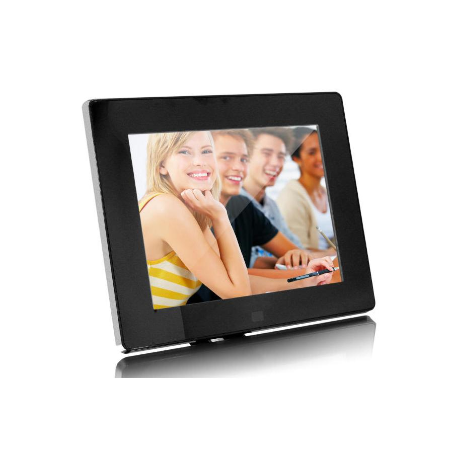 "8"" Digital Photo Frame with 512MB Built-In Memory"
