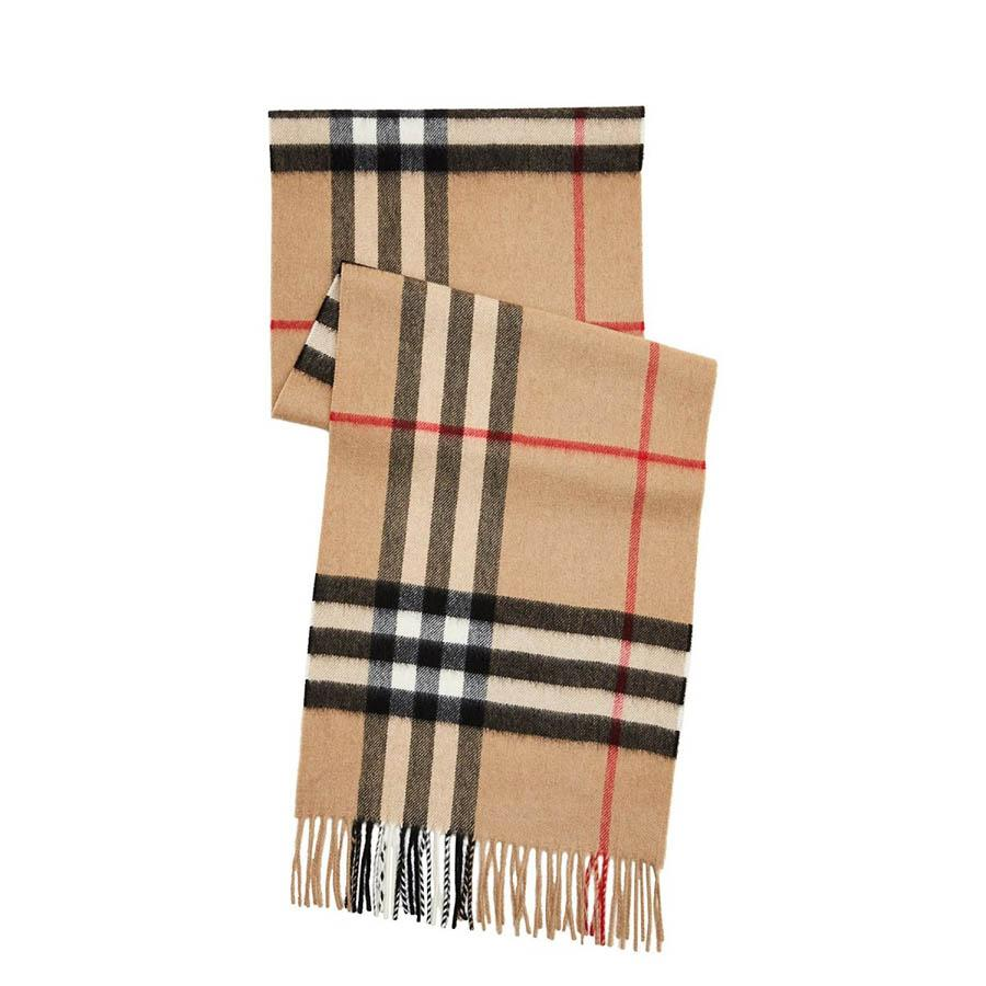 d50caae42ece The Classic Check Cashmere Scarf - Burberry - Loyalty Source