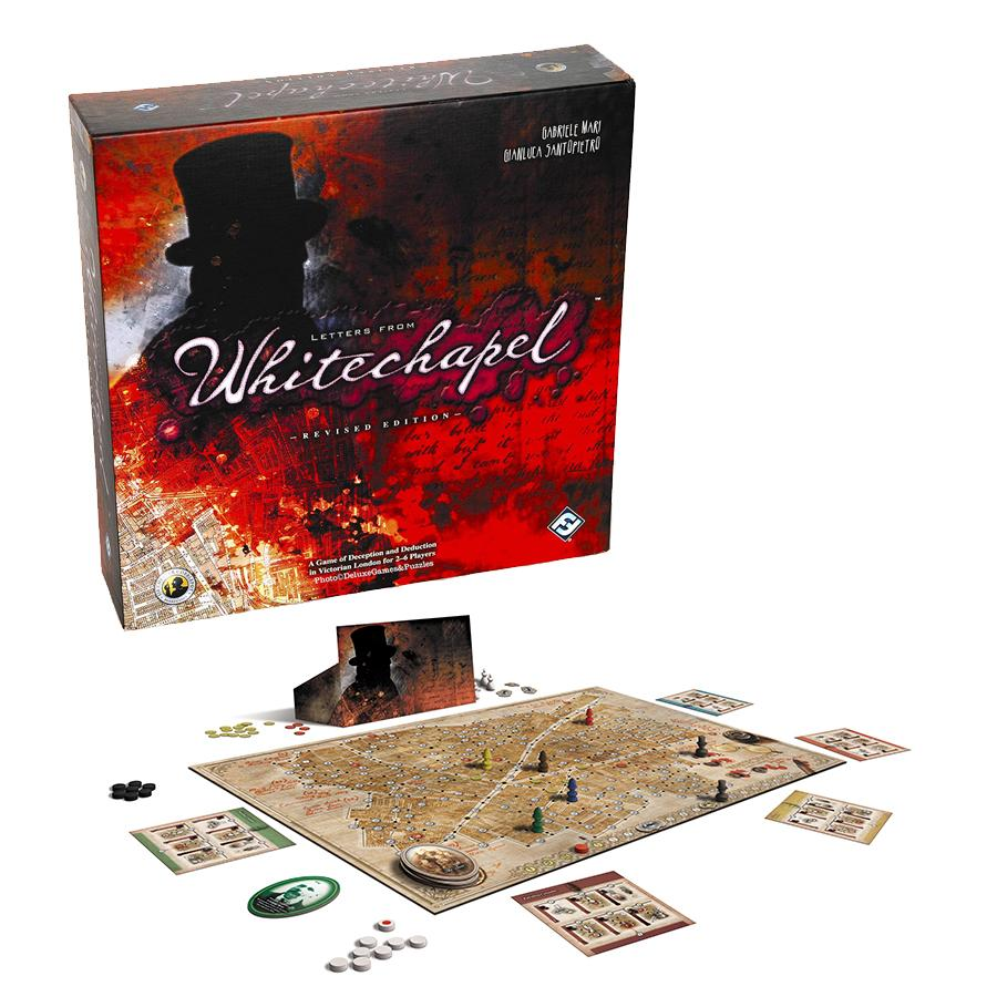 Letters from Whitechapel Boardgame Fantasy Flight Games
